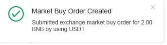Qu'est-ce qu'un ordre au marché ?