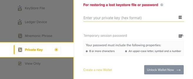 Binance DEX: Uzyskiwanie dostępu do portfela