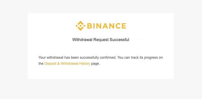 Как вывести средства с Binance