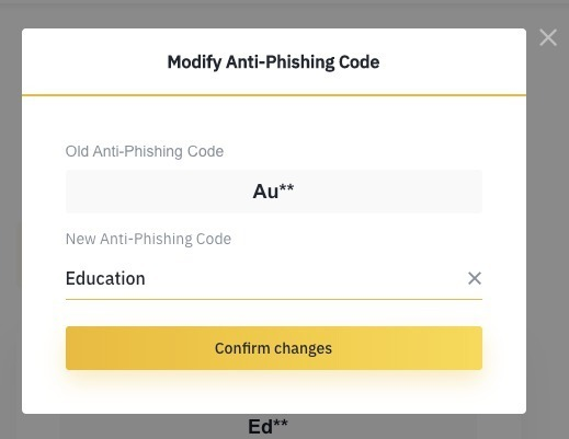 Guia do Código Anti Phishing
