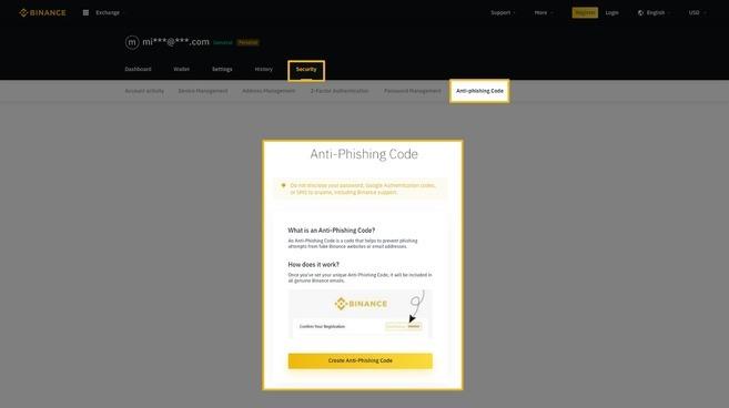 Guia do Código Anti Phishing