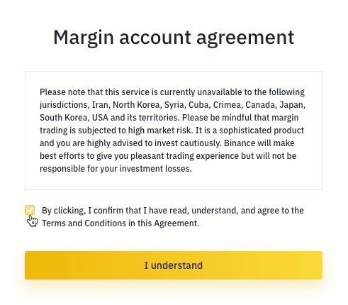 Guia de Margin Trading da Binance