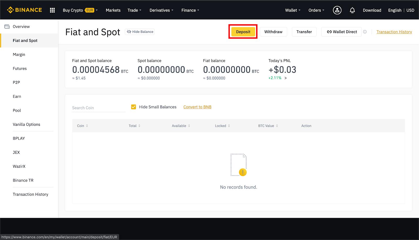 Come trasferire bitcoin da Coinbase a Binance?   Finanza Guru