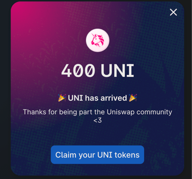 how-to-claim-uni-tokens-uniswap