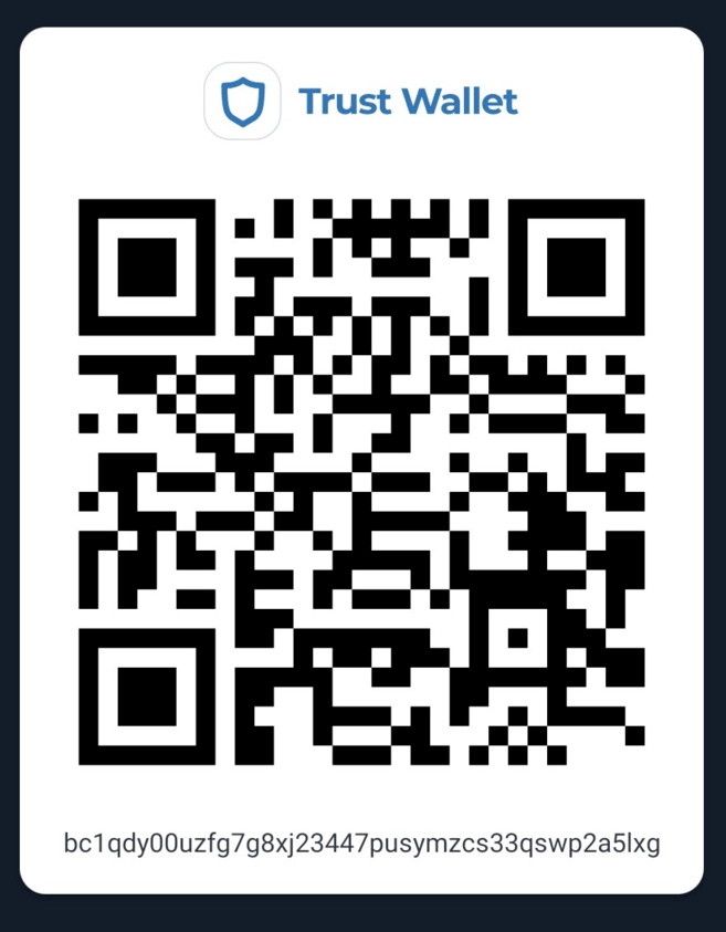 Public address in Trust Wallet