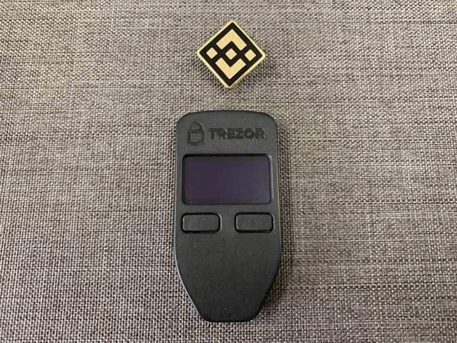 image of trezor one