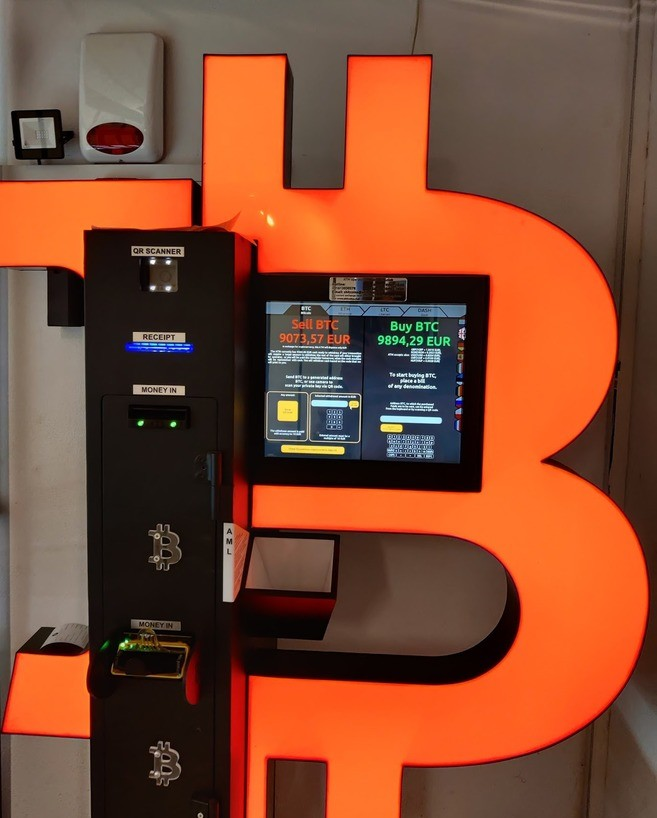 Image of a Bitcoin ATM