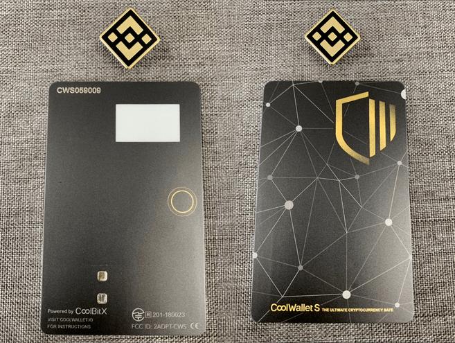 coolwallet s hardware wallet image