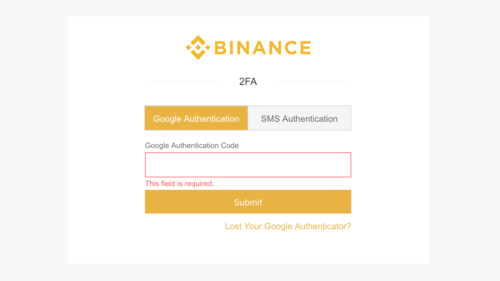 Guía 2FA de Binance